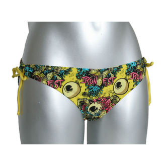 Damen Bikini  IRON FIST - Eye and Ten Top , Bottom - YELLOW