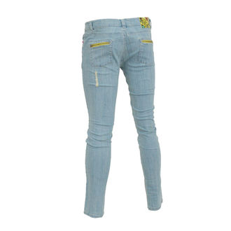 Damen Hose  (Jeans) IRON FIST - Eyeballs Skinny Denims - BLEACH WASH DENIM - IFL0177