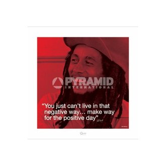 Posters Bob Marley (I.Quote - Positive Day) - Pyramid Posters - PPR45232