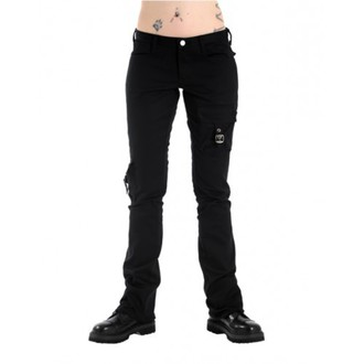 Hose Damen Black Pistol - Pocket Hipster Black Denim - B-1-57-001-00