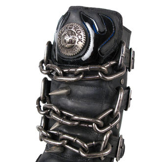 Schuhe NEW ROCK  - Chain Boots (727-S1) Black