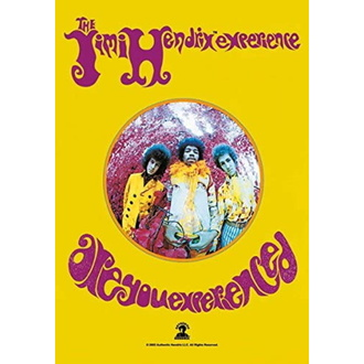 Flagge Jimi Hendrix - Are you Experienced, HEART ROCK, Jimi Hendrix