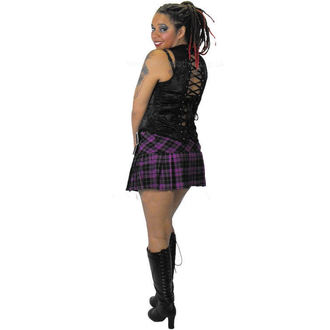 Damen Rock  HELL BUNNY - Purple Chelsy Mini Skirt