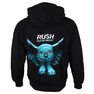 Herren Hoodie  RUSH 'FLY BY NIGHT', PLASTIC HEAD, Rush