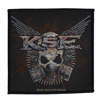 Patch Aufnäher Killswitch Engage - Gas Mask - RAZAMATAZ, RAZAMATAZ, Killswitch Engage