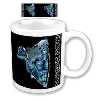 Keramiktasse  (Pott) Iron Maiden - Different World Boxed Mug - ROCK OFF - IMMUG02