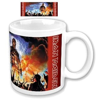 Keramiktasse  (Pott) Iron Maiden - Wicker Man Boxed Mug - ROCK OFF - IMMUG03
