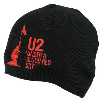 Strickbeanie  U2 - U2 Beanie Hat Under A Blood Red Sky - ROCK OFF, ROCK OFF, U2