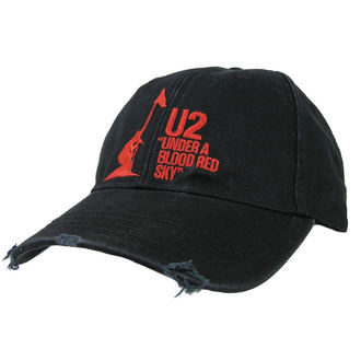 Cap U2 - U2 Baseball Cap Under A Blood Red Sky - ROCK OFF - U2CAP01