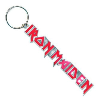Schlüsselanhänger  Iron Maiden - Logo with Tails Key Chain - ROCK OFF - IMKEY01