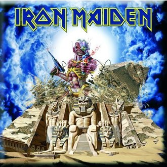 Magnet Iron Maiden - Somewhere Back In Time Fridge Magnet - ROCK OFF - IMMAG04