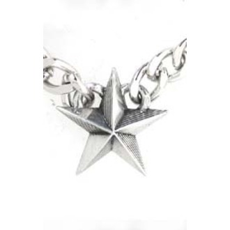 Halskette Nautical Star Cuban Pendant - ALCHEMY GOTHIC - ULP12