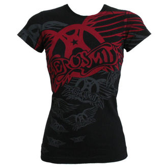 Damen T-Shirt  Aerosmith - Walk This Way - LIQUID BLAU - 33801