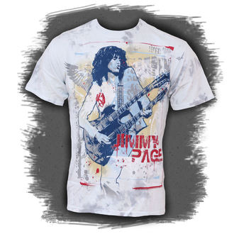 Herren T-Shirt Jimmy Page - Double Your Pleasure - LIQUID BLUE  - 11613