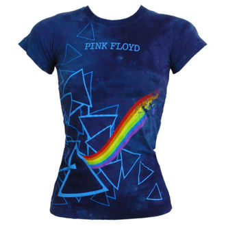 Damen T-Shirt  Pink Floyd - Prism Longer Length - LIQUID BLUE - 13974