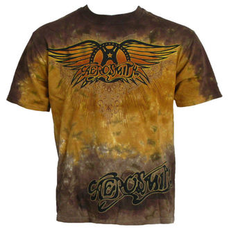 Herren T-Shirt  Aerosmith - Ray Logo - LIQUID BLAU - 11933