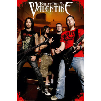 Poster Bullet For my Valentine - Theatre - LP1377 - GB posters