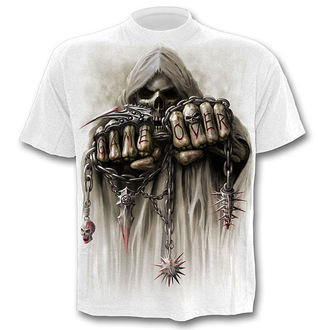 Herren T-Shirt  SPIRAL - Game Over - White - T026M113