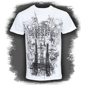 Herren T-Shirt  Avenged Sevenfold - Land Of Kain - ROCK OFF - ASTS19MW