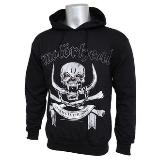 Herren Hoodie  Motorhead - March Or Die - ROCK OFF - MHEADHOOD02MB