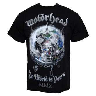 Herren T-Shirt Motorhead - The World Is Your - EMI - TSB 7095