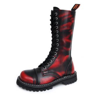 Stiefel KMM 14-Loch - Red/Black, KMM
