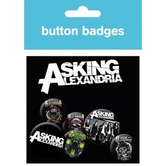 Button Asking Alexandria - Graphics - BP0387 - GB posters
