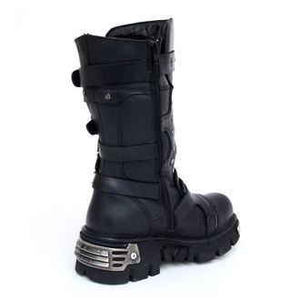 Punk Boots NEW ROCK - 1020-S2 - Itali Negro