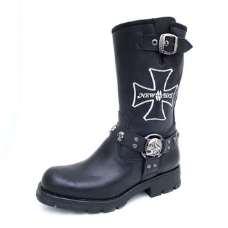 Punk Boots NEW ROCK - 7622-S1 - Itali Negro