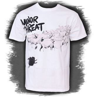 Herren T-Shirt Minor Threat - Out Of Step White - ATMOSPHERE