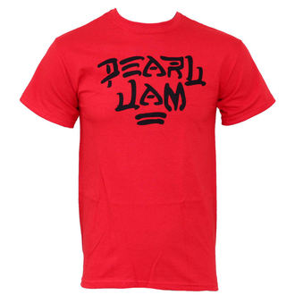 Herren T-Shirt  Pearl Jam - Logo Red - PEPJA0030 - LIVE NATION