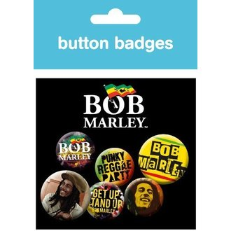 Button Bob Marley - One Love - BP0313 - GB posters