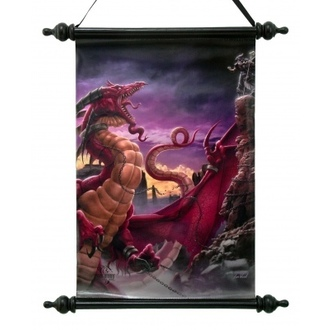 Scroll Art Scroll  - Unleash The Dragon - NEM2690