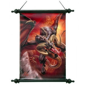 Scroll Art Scroll  - Dragon Raid - NEM2696