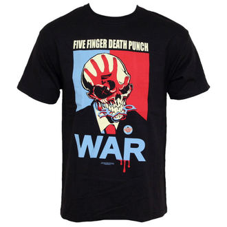 Herren T-Shirt Five Finger Death Punch - War - BRAVADO USA - FDP2003