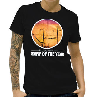 Damen T-Shirt  Story Of The Year - The Constant - Black - KINGS ROADS