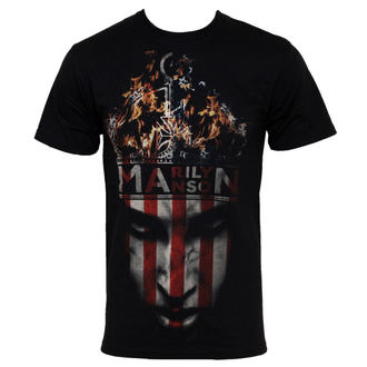 Herren T-Shirt Marilyn Manson - Crown - BRAVADO USA -  MAN1021