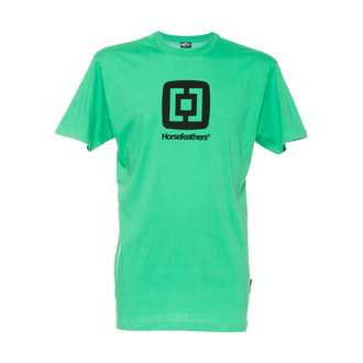 Herren T-Shirt HORSEFEATHERS - Fair - GREEN - Slim Fit