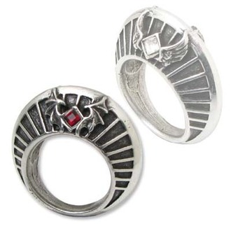 Ring Heaven And Hell - Nimbus Ring - ALCHEMY GOTHIC - R163