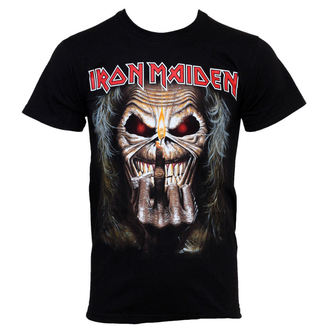 Herren T-Shirt Iron Maiden - Eddie Candle - IMTEE15MB02 - ROCK OFF