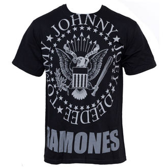 Herren T-Shirt Ramones - Hey Ho Lets Go - LIQUID BLUE - 31966