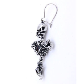 Ohrringee Rose Thorn Cross - ALCHEMY GOTHIC - E130