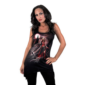 Damen Kleid  SPIRAL - Blood Moon - Gothbotm Viscose - AS135234