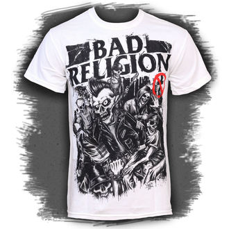 Herren T-Shirt Bad Religion - Mosh Pit Europe - White - LIVE NATION - 10208