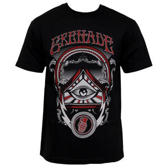 Herren T-Shirt GRENADE - Eye Of Grenade - BLACK