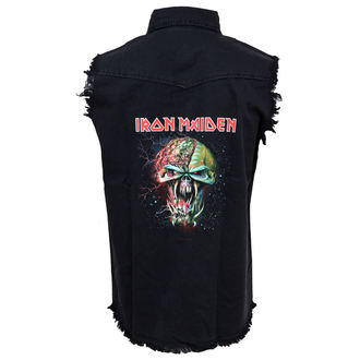 Herren Weste Iron Maiden - The Final Frontier Face - RAZAMATAZ