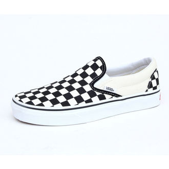 Schuhe VANS - Classic Slip On - Black And White Checker - White - VEYEBWW