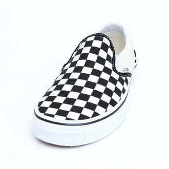 Schuhe VANS - Classic Slip On - Black And White Checker - White