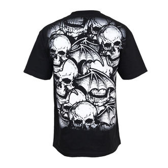 Herren T-Shirt Avenged Sevenfold - A/O White Deathbats - BRAVADO USA