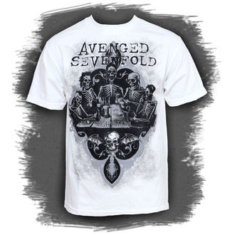 Herren T-Shirt Avenged Sevenfold - Bottoms Up - BRAVADO USA - AVN1235